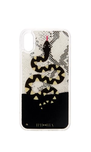 IPHORIA[X/XS] Liquid Case Black Snake