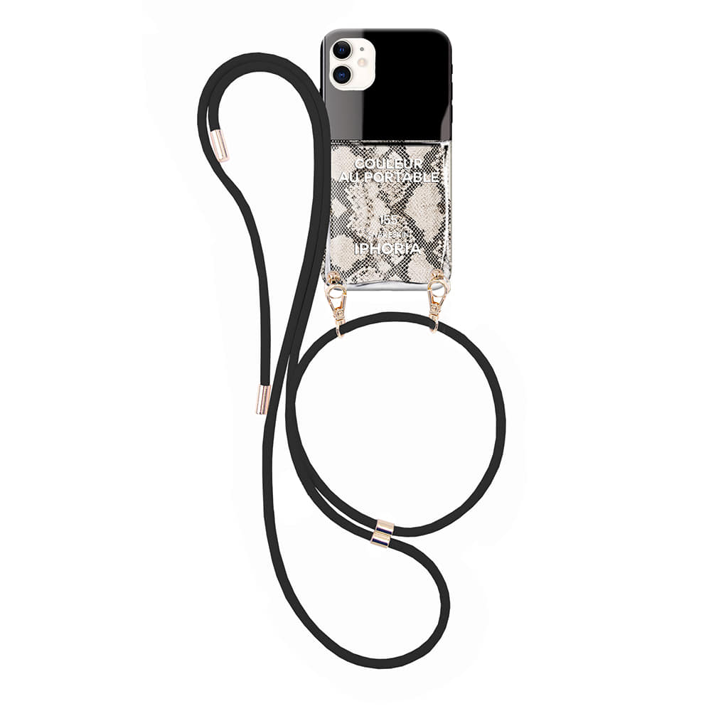 SNAKESKIN LIQUID iPhone 12 PRO/12 NECKLACE CASE